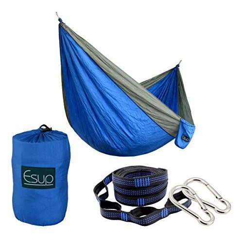 並行輸入品Esup XL Camping Hammock -Multifunctional Lightweight Nylon Portable Hammock, Best Par118