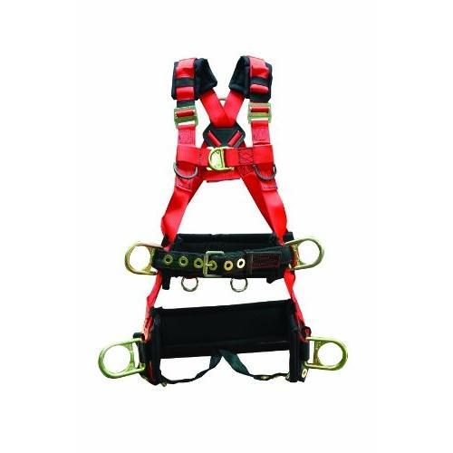 並行輸入品Elk River 66623 EagleTower Polyester/Nylon LX 6 D-Ring Harness with Quick-Connect Buc66623 Large