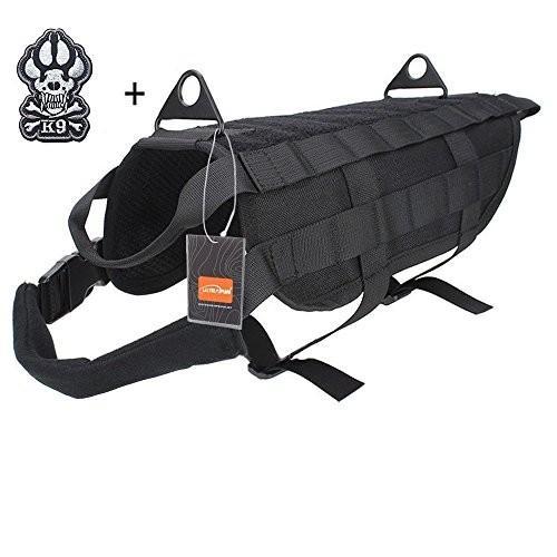 海外正規品Ultrafun Tactical Dog Molle Vest Military Training Harness with Handle Outdoor Pet SuLarge