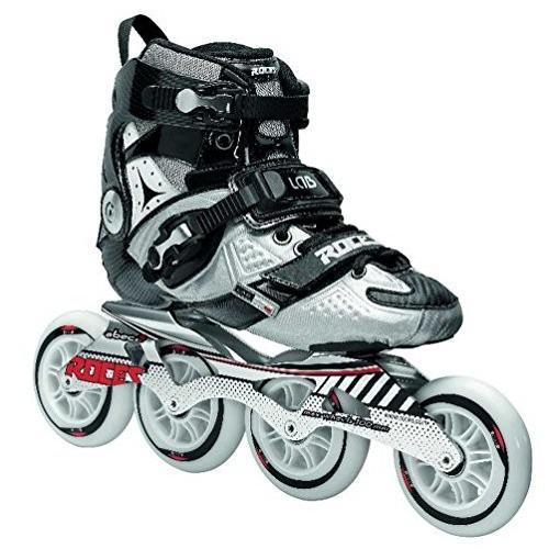海外正規品Roces 400721 Men's Model Lab Fitness Inline Skate, US 7, Black/Silver7 US