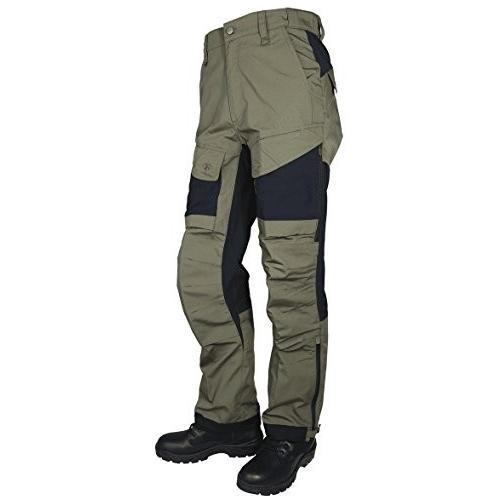 並行輸入品Tru-Spec Men's 24-7 Xpedition Pants, Ranger 緑/黒, W: 38 Large: 321437007 38W 32L