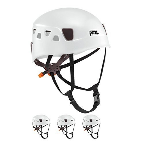 並行輸入品Petzl Panga White Climbing Helmet for Group and Club Use 4 Pack