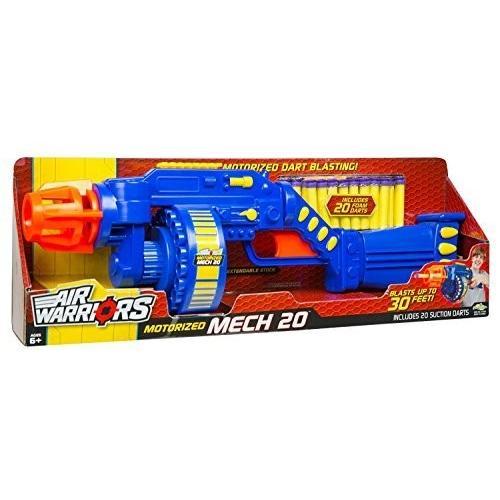 バズビーBuzz Bee Toys Air Warriors Motorized Mech 20 Blaster by Buzz Bee