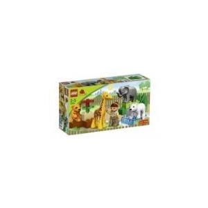 レゴ18-Piece Set Includes Animals, Zoo Keeper, And Large Building Bricks - DUPLO LEGO Ville Baby Zoo V70 (4962)