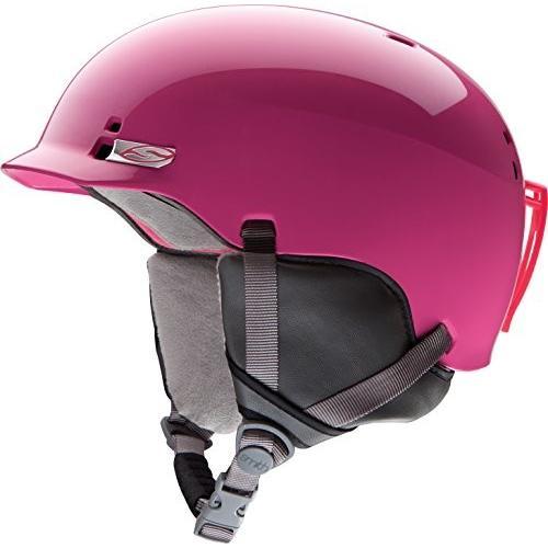 ウィンタースポーツSmith Kids' Gage Junior Helmet Bright ピンク MediumMedium