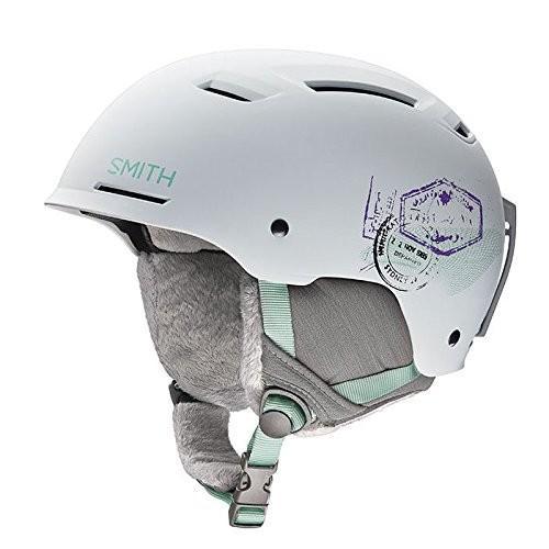 ウィンタースポーツSmith Pointe Helmet - Womens - matte 白い wanderlust, sH16-PTWW Small (51-55CM)