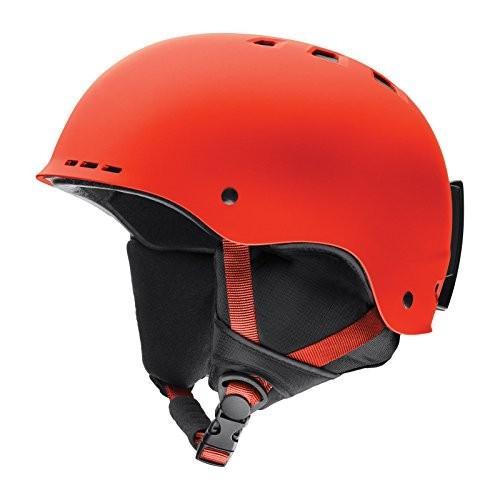 ウィンタースポーツSmith Optics Holt Adult Ski Snowmobile Helmet - Matte Sriracha/LargeSmith Large (59-63CM)