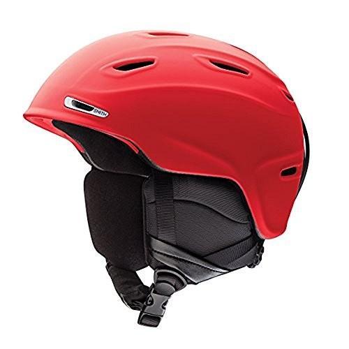 ウィンタースポーツSmith Optics Adult Aspect Ski Snowmobile Helmet - Matte Fire/SmallSmith Small (51-55CM)