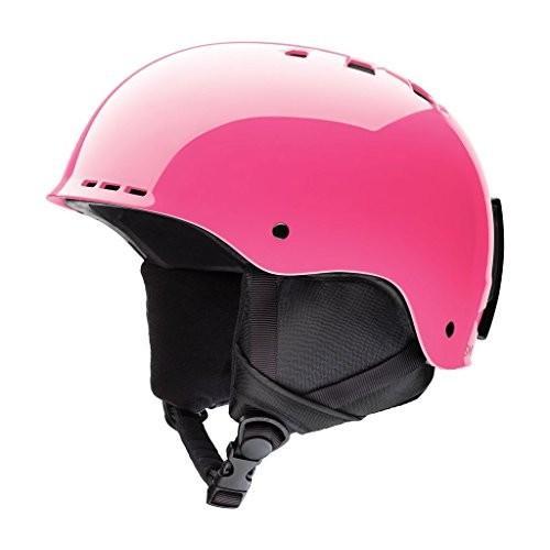 ウィンタースポーツSmith Optics Holt Youth Junior Ski Snowmobile Helmet - Crazy ピンク - MediuHolt Jr. Helmet - Big Kids' Medium