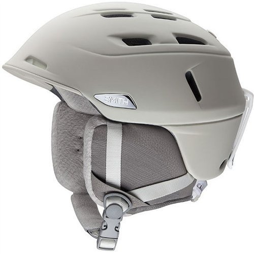 スノーボードSmith Optics Compass Adult Ski Snowmobile Helmet - Matte Ivory/Small
