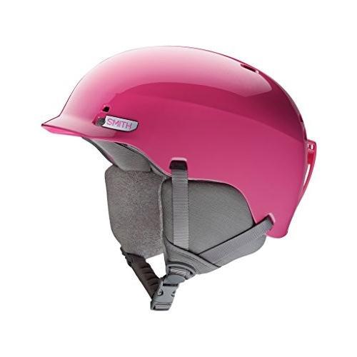 ウィンタースポーツSmith Optics Gage Jr. Ski Snowmobile Helmet - Bright Pink/MediumSmith Medium (55-59CM)