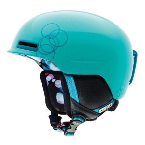 ウィンタースポーツSmith Optics Allure Helmet, Large, Teal Night OutH12-ALTLLG Large (58cm-60cm)
