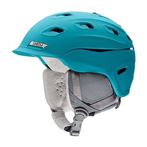 スノーボードSmith Optics Vantage Womens Ski Snowmobile Helmet - Matte Mineral/Large