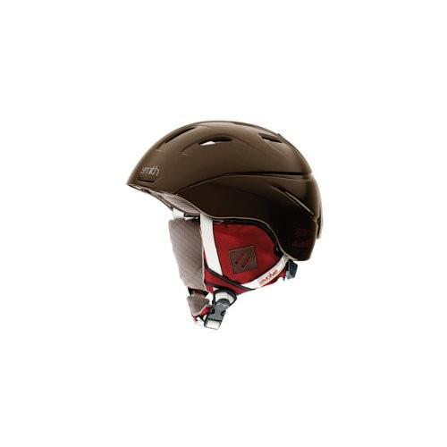 ウィンタースポーツSmith Optics Women's Intrigue Snow Sports Helmet (Chocolate Evolve, SmallIntrigue Helmet Small