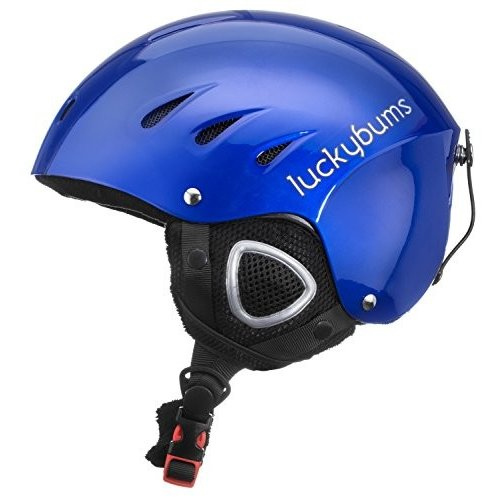 スノーボードLucky Bums Snow Sport Helmet with Fleece Liner, 青, X-Large