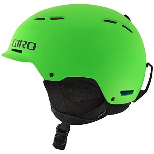 スノーボードGiro Discord Snow Helmet - Men's Matte Bright 緑 Small