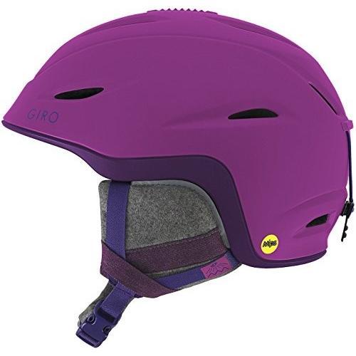 スノーボードGiro Fade MIPS Women's Snow Helmet Matte Berry/紫の S (52-55.5cm)