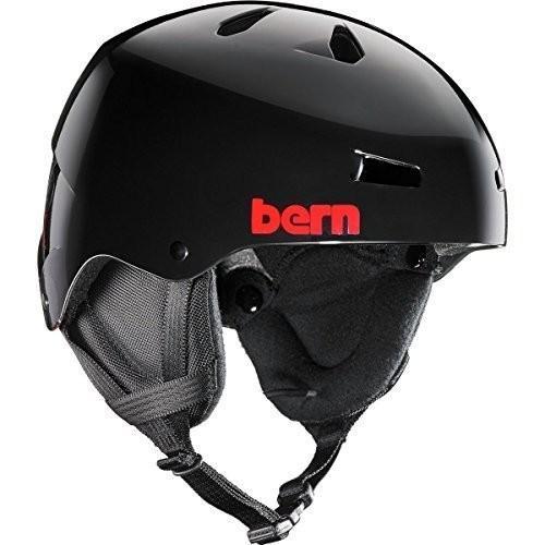ウィンタースポーツBERN Team Macon EPS Thin Shell Helmet - Men's 黒 Henrik, SmallSM12EGBKH01 Small