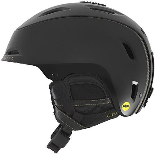 スノーボードGiro Stellar MIPS Womens Snow Helmet - Pearl 黒 - Size S (52-55.5cm)