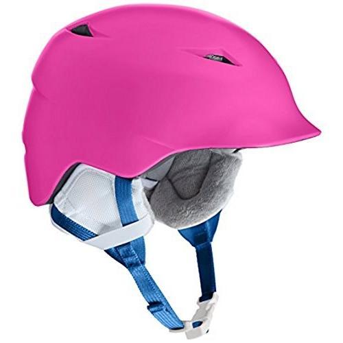ウィンタースポーツBERN Camina Helmet Girls' Satin ピンク S/MSG02ZSPNK21 Small/Medium