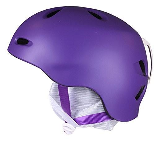 ウィンタースポーツBERN Berkeley Helmet - Women's Matte 紫の, XS/SW3MPL XS-S