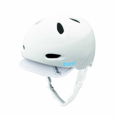 ウィンタースポーツBern Berkeley Gloss White with Grey Knit Helmet (X-Small)W3GWXS X-Small