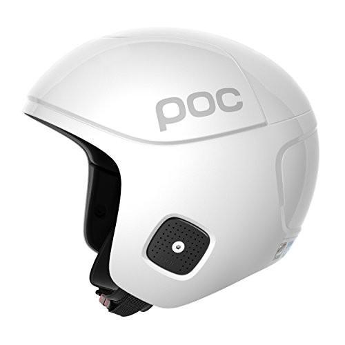 スノーボードPOC Skull Orbic X Spin, High Speed Race Helmet, Hydrogen 白い, Medium