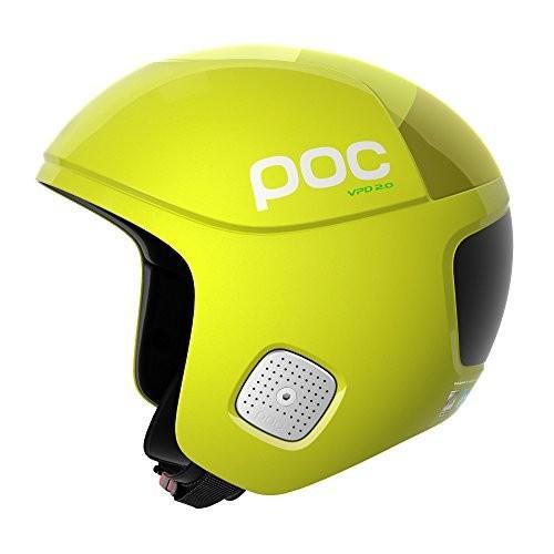 スノーボードPOC Skull Orbic Comp Spin, Ultimate Race Helmet, Hexane 黄, XS/S