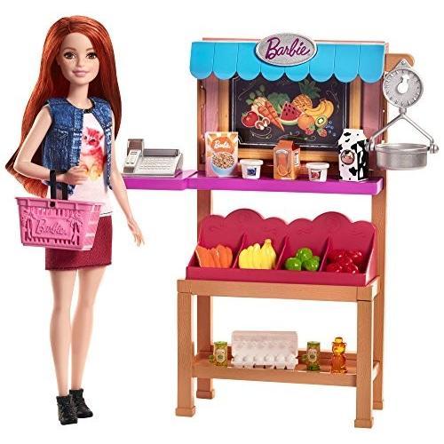 バービー人形Barbie Grocery PlaysetFJB27