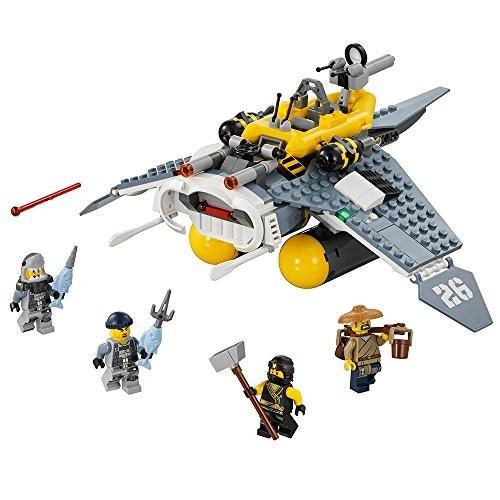 レゴLEGO Ninjago Movie Manta Ray Bomber 70609 Building Kit (341 Piece)