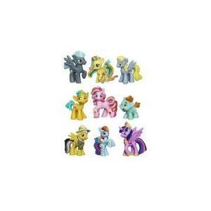 マイリトルポニーMy Little Pony Friendship Is Magic Minis Set of 9 - Daring Pony Story, Ponyville Newsmaker & Soaring Pegas