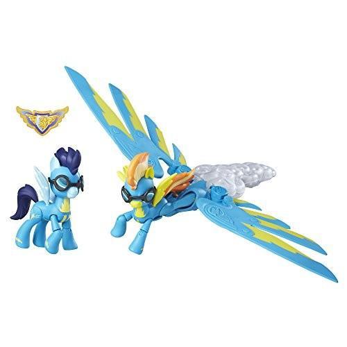 マイリトルポニーMy Little Pony Guardians of Harmony Spitfire and Soarin' Figures