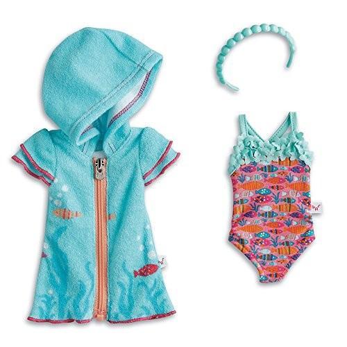 アメリカンガールドールAmerican Girl WellieWishers Fun Fish Swimsuit & Cover-Up for Dolls