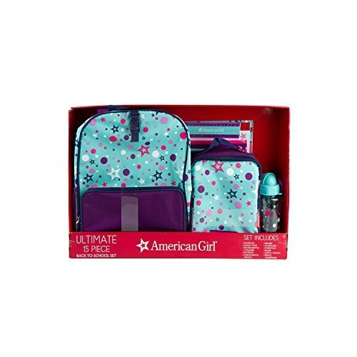 アメリカンガールドールAmerican Girl 15-Piece Back to School Set, Turquoise