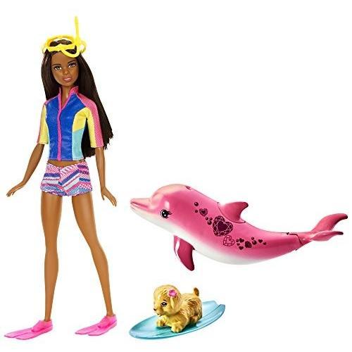 バービーBarbie Dolphin Magic Snorkel Doll