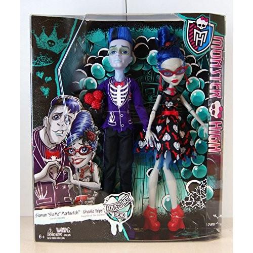 人形Monster High Love's Not Dead - 2 Pack: Slo Mo & Ghoulia Yelps by MattelCKD81 Small