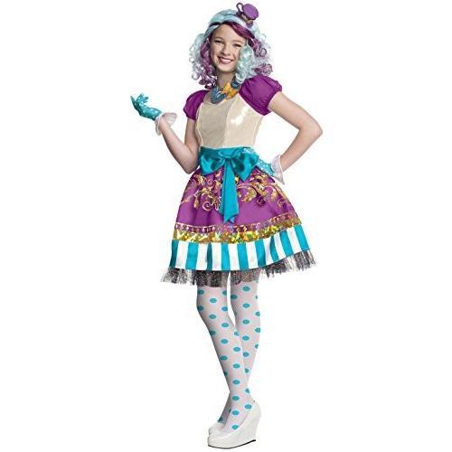 モンスターハイRubies Ever After High Child Madeline Hatter Costume, Child Medium