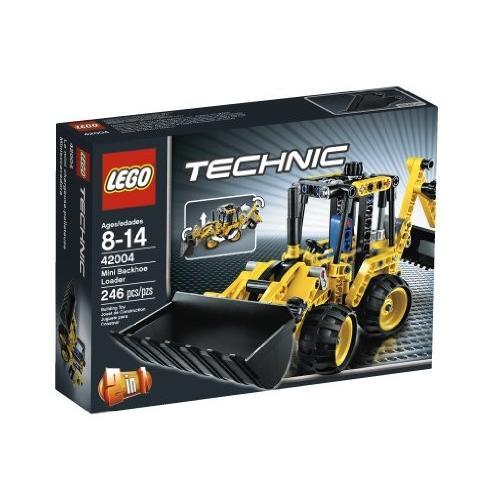 レゴLEGO Technic 42004 Mini Backhoe Loader