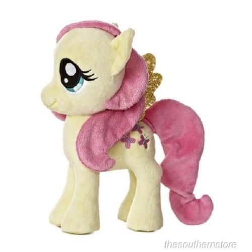 ハズブロAurora World My Little Pony FLUTTERSHY Pony Plush, 6.5