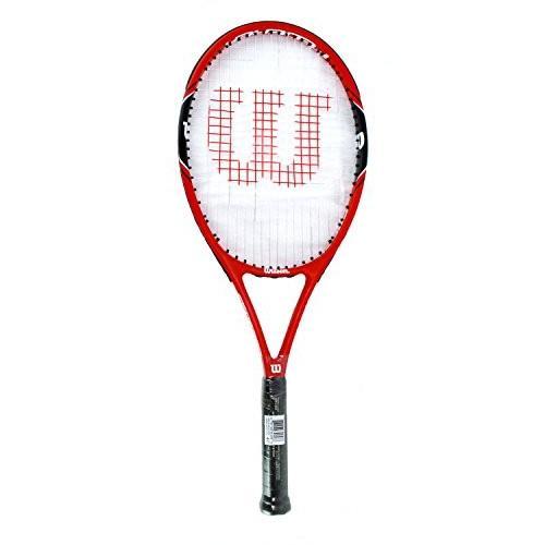 ラケットWilson Federer 100 Tennis Racquet Grip 4 1/8 (Pre-Strung)