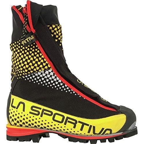 並行輸入品La Sportiva G5 Hiking Shoe, Black/Yellow, 47.521C-999100-47.5 47.5 M EU