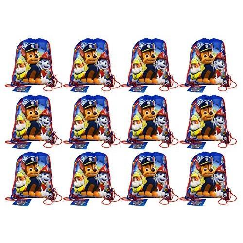 パウパトロールPaw Patrol Non Woven Sling Bag Party Pack - 12 bags 14