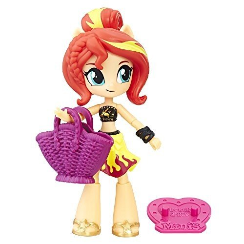 ハズブロMy Little Pony Equestria Girls Beach Collection Sunset ShimmerE0680