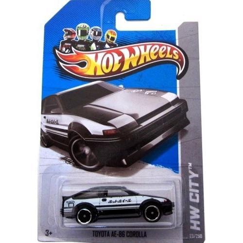 ホットウィール2013 Hot Wheels (23/250) Toyota AE-86 Corolla