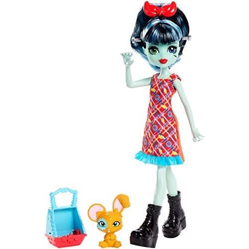 モンスターハイMonster High Monster Family Alivia Stein & Gigawatt Doll + Pet