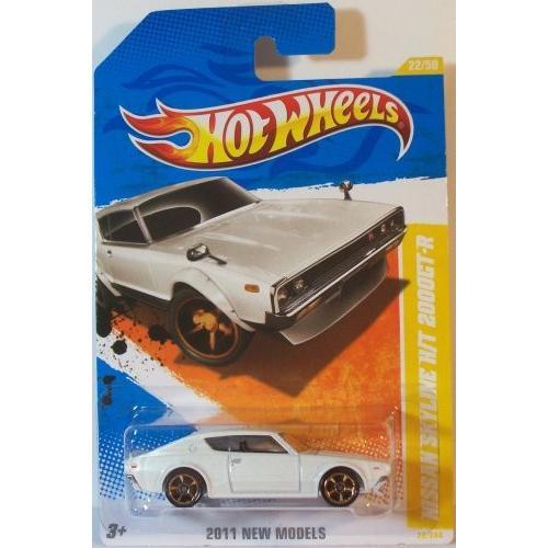 ホットウィールHot Wheels 2011 2011 New Models Nissan Skyline H/T 2000GT-R 白い #22/244