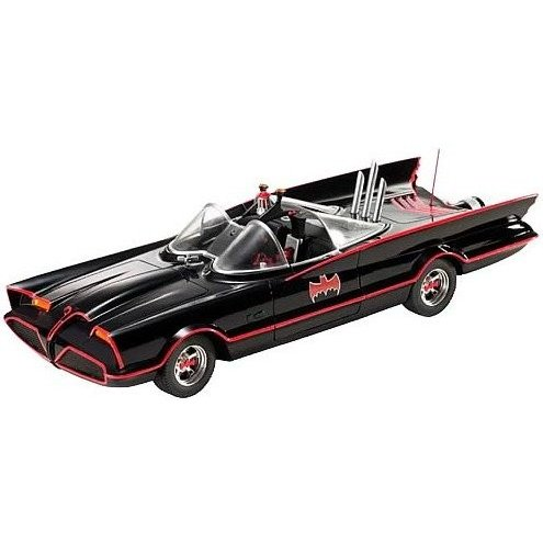 マテルMattel Hot Wheels 1:18 1966 TV Series BatmobileL2090