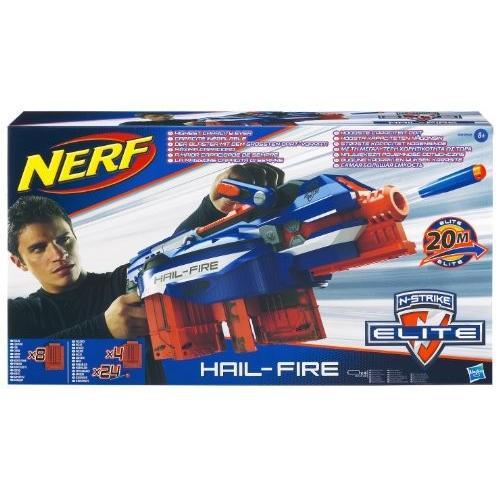 ナーフNerf N-Strike Elite Hail-Fire Blaster(Discontinued by manufacturer)