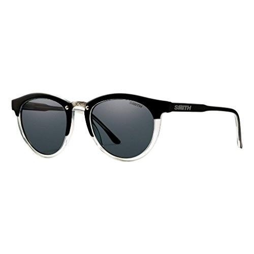 スミスSmith Optics Women's Questa Archive Sunglasses/Eyewear, Matte 黒 Crystal/Gray, Small/Medium