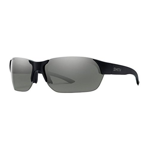 スミスSmith Envoy ChromaPop Polarized Sunglasses - Men's Matte 黒/Polarized Platinum, One Size